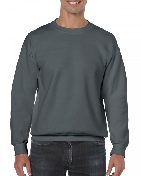 10 Gildan Heavy Blend™ Crewneck Sweatshirt - inkl. einfarbigem Druck