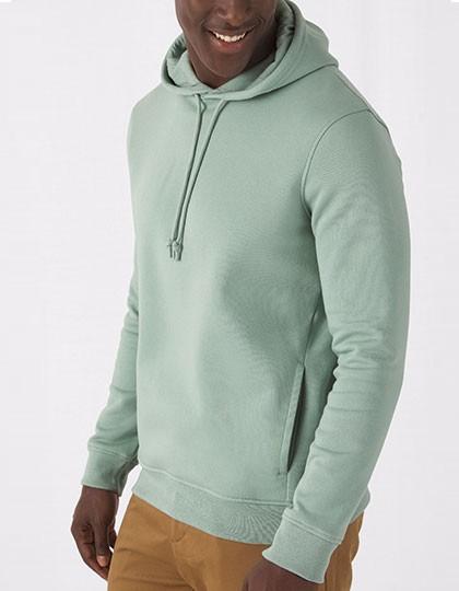 B&C Organic Hooded Sweat inkl. Druck Fairtrade Pullover Kapuzenpullover