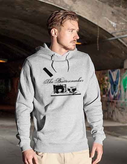 Build Your Brand Heavy Hoody - inkl. Druck