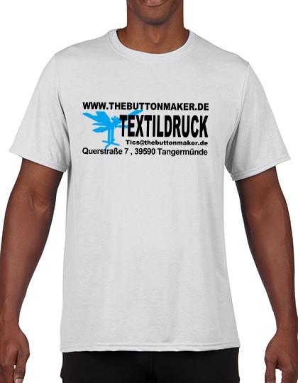 Fotodruck auf T-Shirt