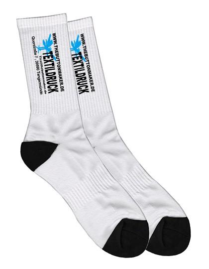 Socken bedruckt