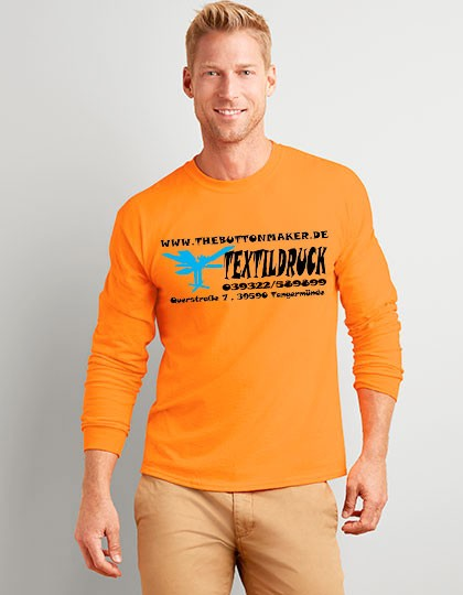 Gildan Longsleeve Ultra Cotton™ Long Sleeve T- Shirt