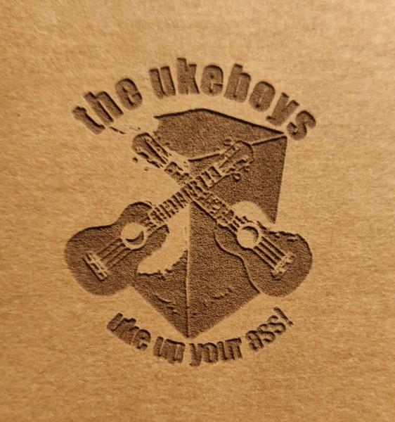 Aufnäher Veganes Leder- Klein bis 5 cm inkl. Laserprint, Label