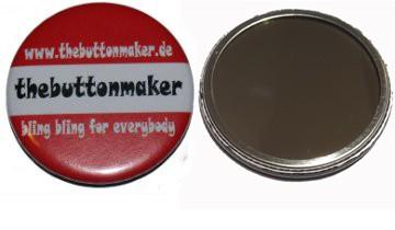 56mm Spiegel Button nach Vorlage